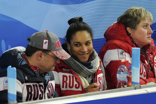 Томас Липс, Кира Езех и Светлана Калалб (слева направо)