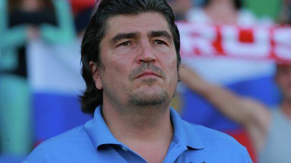 Главный тренер молодежной сборной России по футболу Николай Писарев