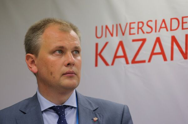 Первый вице-президент Федерации бокса России Андрей Данько