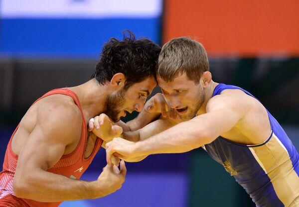 Иван Куйлаков (справа) и Камран Маммадов