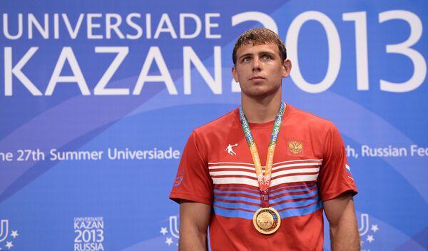 Российский спортсмен Никита Мельников