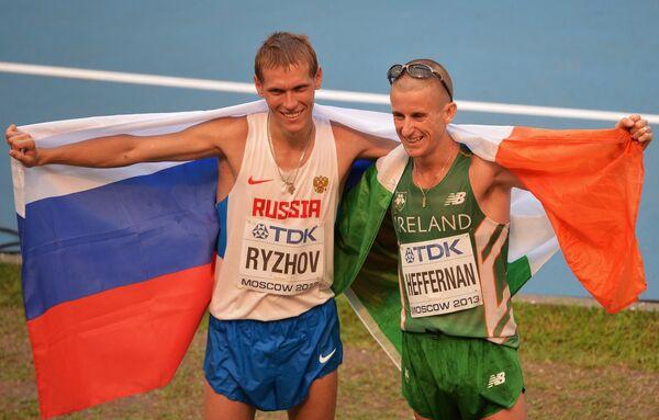 Россиянин Михаил Рыжов и ирландец Роберт Хеффернан