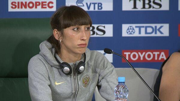 Конева рассказала, почему недовольна серебром по прыжкам в длину на ЧМ