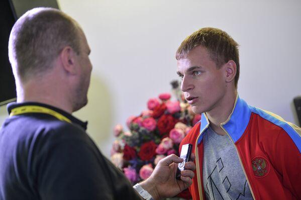 Чемпион мира 2013 года в спортивной ходьбе Александр Иванов