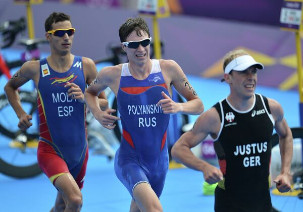ОИ - 2012. Триатлон. Мужчины