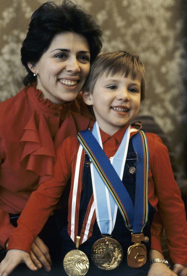 Трехкратная олимпийская чемпионка в парном катании на льду Ирина Роднина