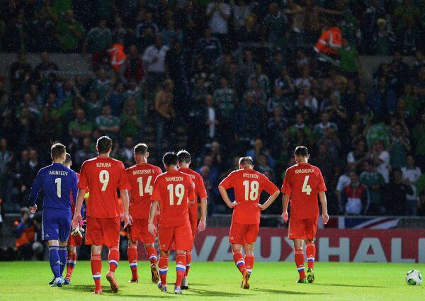 Сборной России по футболу