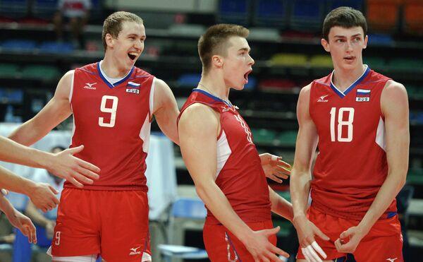 Илья Никитин, Павел Панков и Ильяс Куркаев (слева направо)