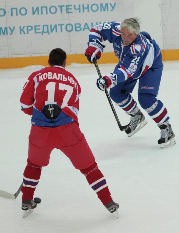 Илья Ковальчук (слева) и Михаил Кравец