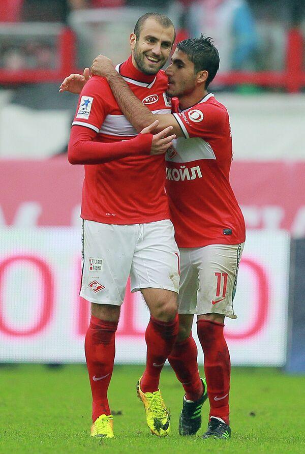 Юра Мовсисян (слева) и Араз Озбилиз