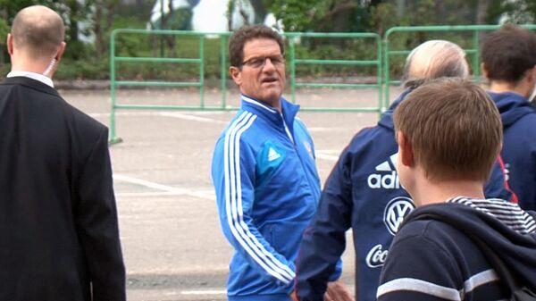 Фабио Капелло намекнул, почему Дзюбу не вызвали в сборную