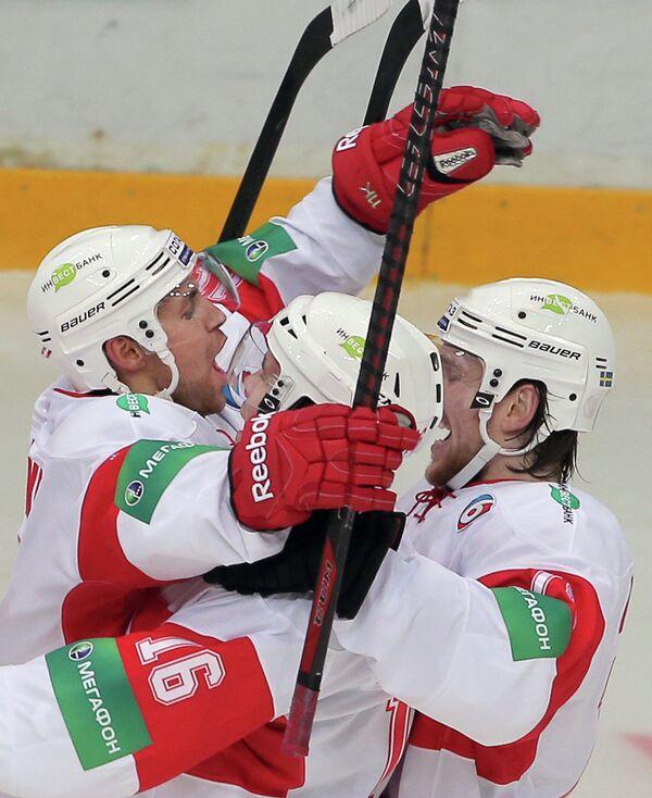Хоккей. КХЛ. Матч Атлант - Спартак
