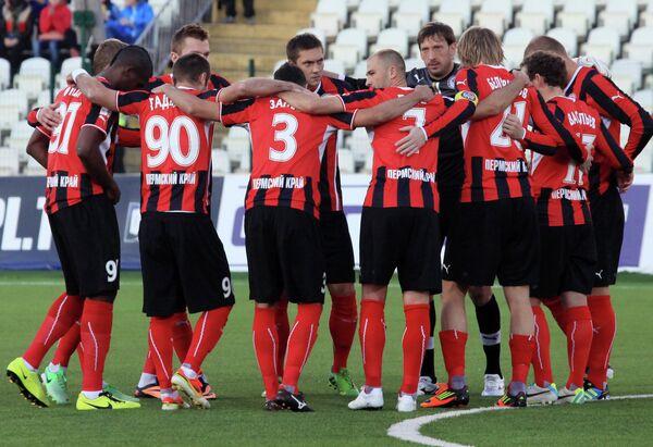 Футболисты Амкара