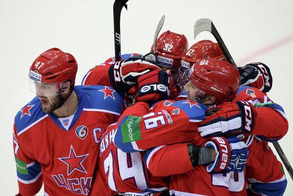 Хоккей. КХЛ. Матч ЦСКА - Динамо