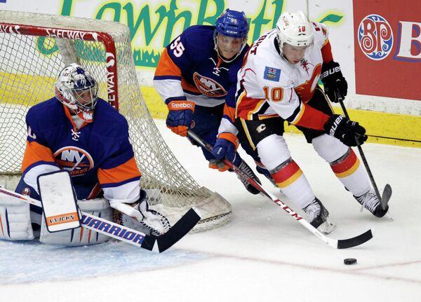 Выставочный матч НХЛ  Нью-Йорк Айлендерс - Калгари Флэймз