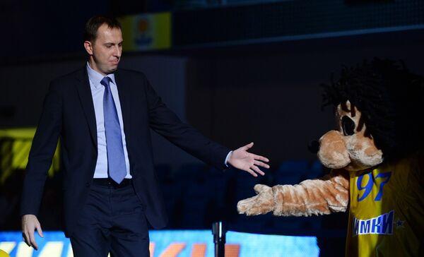 Генеральный директор баскетбольного клуба Химки Павел Астахов