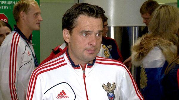 Был тяжелый путь - Лихачев о победе россиян на ЧМ по пляжному футболу