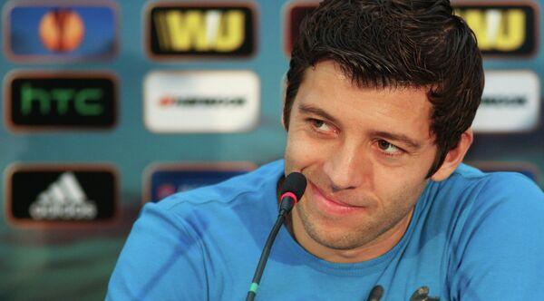 Защитник футбольного клуба Кубань Анхель Ибанес Деальберт