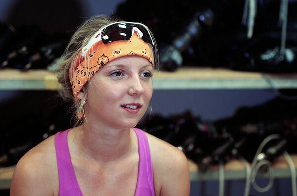 Российская конькобежка Елизавета Казелина