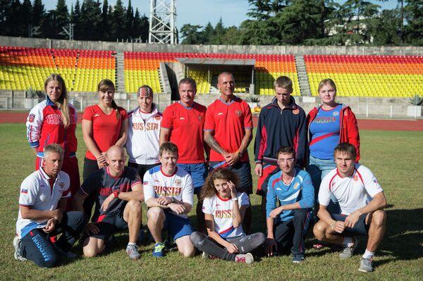Российская сборная по фристайлу в дисциплине могул