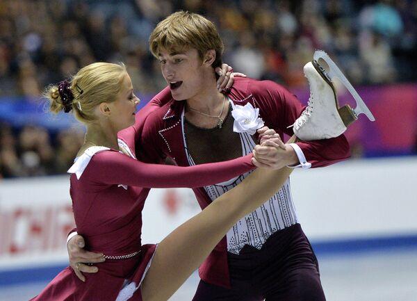 Анастасия Мартюшева и Алексей Рогонов (Россия)