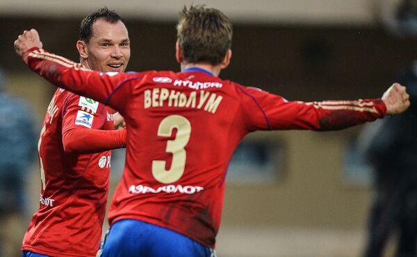 Сергей Игнашевич (слева) и Понтус Вернблум