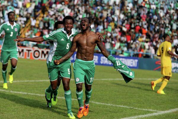 Футболисты Нигерии