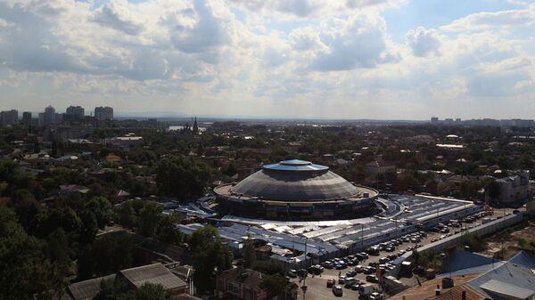 Вид на город Краснодар
