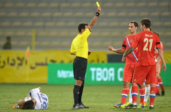 Футбол. Товарищеский матч. Россия - Корея