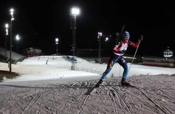 Тестовые соревнования сборной России