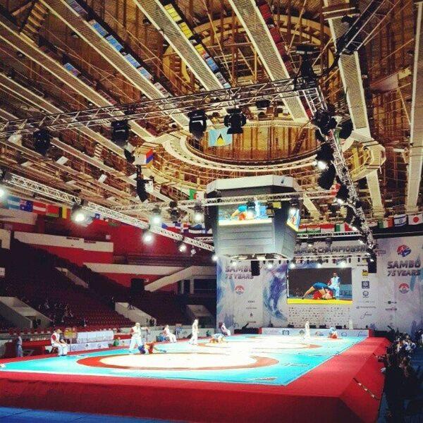 Чемпионат мира-2013 по самбо в Санкт-Петербурге