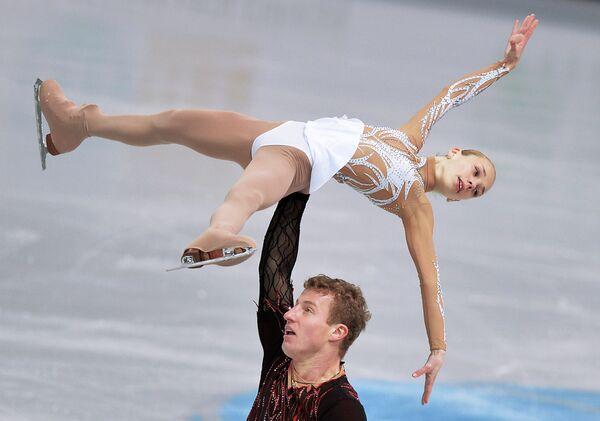 Юлия Антипова и Нодари Майсурадзе