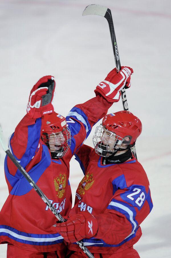 Андрей Светлаков и Александр Микулович (слева направо)
