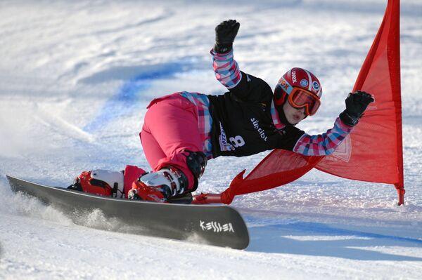 Сноуборд. Екатерина Тудегешева. Параллельный гигантский слалом