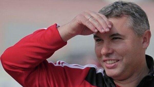Главный тренер белгородского Салюта Сергей Подпалый