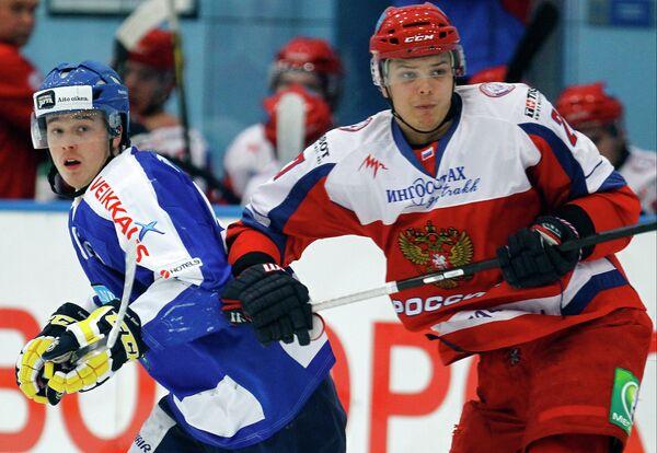 Форвард молодежной сборной России по хоккею Вадим Хлопотов