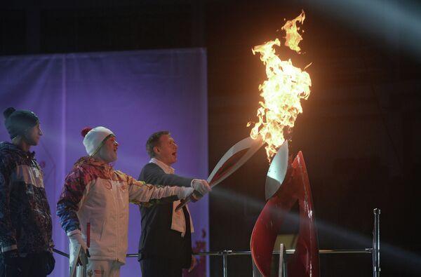 Эстафета Олимпийского огня. Самарская область