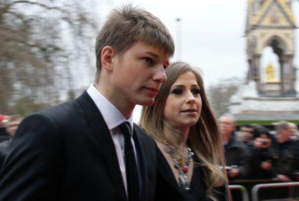 Андрей Аршавин и бывшая подруга Юлия