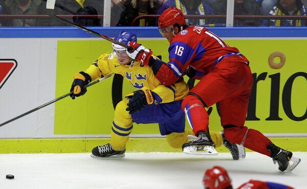 Филип Форсберг (слева) и Никита Задоров