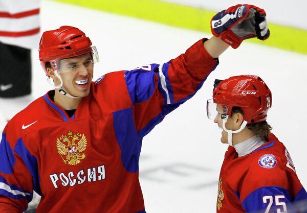 Никита Трямкин (слева) и Михаил Григоренко