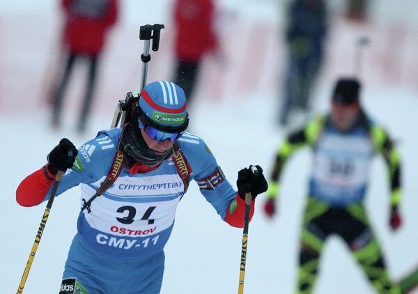 Лыжник Иван Бабиков