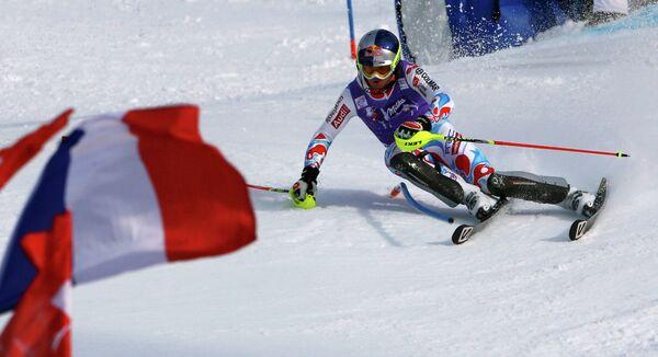 Французский горнолыжник Алекс Пентерю