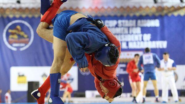 Россия завоевала семь золотых медалей на ЧМ по самбо