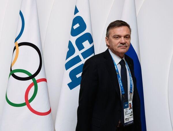 Глава Международной федерации хоккея Рене Фазель