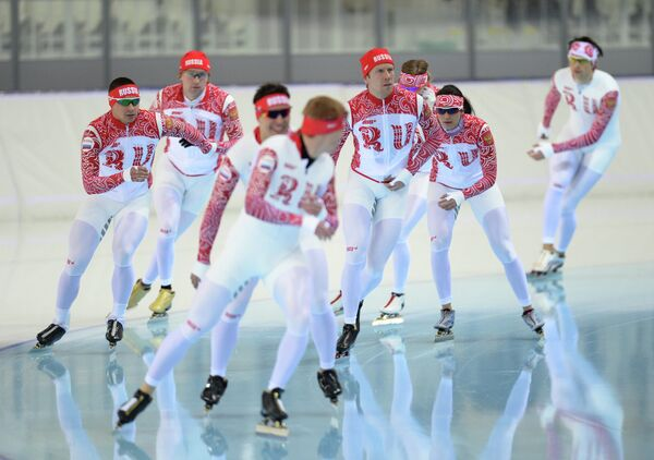 Сборная России по конькобежному спорту