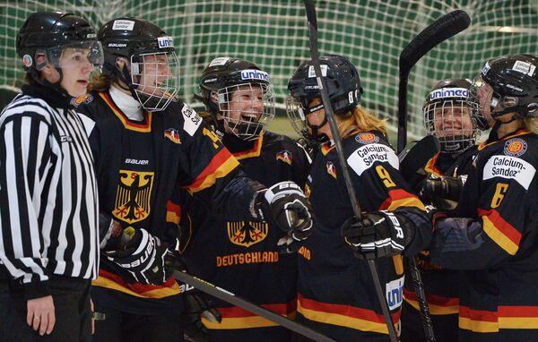 Хоккеистки сборной Германии