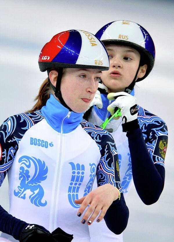 Екатерина Баранок и Софья Просвирнова