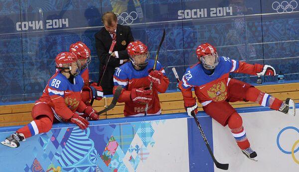 Екатерина Смолина, Екатерина Пашкевич, Анна Щукина и Татьяна Бурина (слева направо)