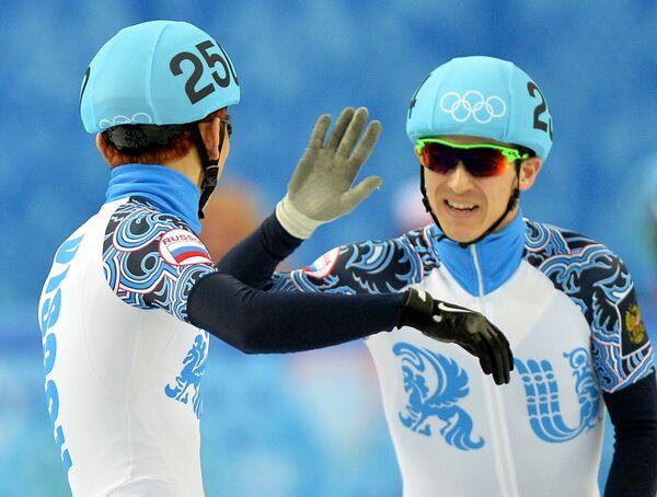 Виктор Ан (Россия) и Руслан Зазаров (Россия)