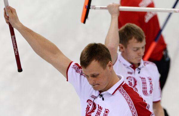 Петр Дрон (Россия) и Евгений Архипов